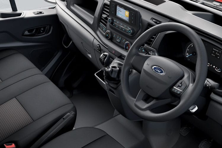 Ford Transit 350 L5 RWD 2.0 EcoBlue RWD 170PS Leader Chassis Cab Manual [Start Stop] inside view