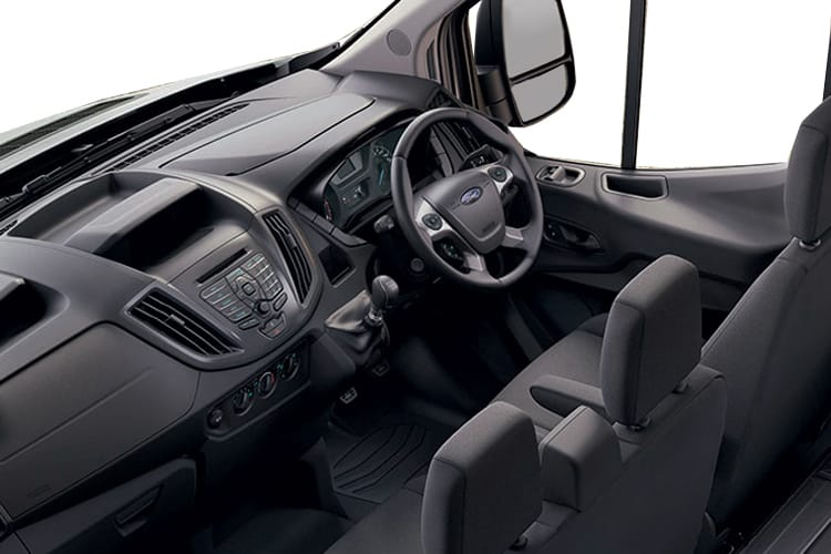 Ford Transit 350 L3 2.0 EcoBlue FWD 170PS Leader Tipper Double Cab Manual [Start Stop] [1Way 1Stop] inside view